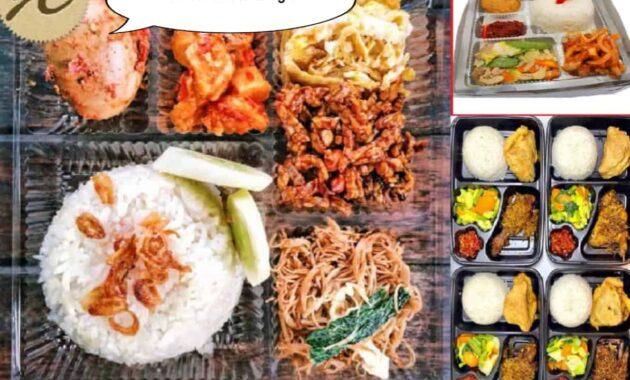 nasi kotak wonoayu, nasi box wonoayu